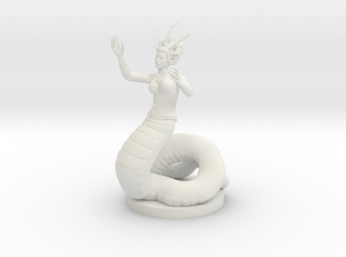 Yuan-Ti Nightmare Speaker 3d printed