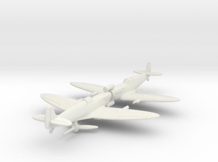 1/200 Spitfire MK VC 3d printed