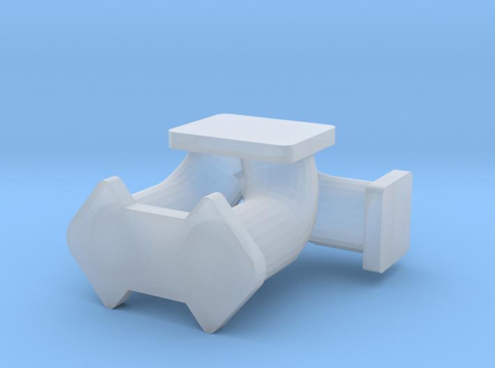 1/24 rotary turbo manifold 3d printed