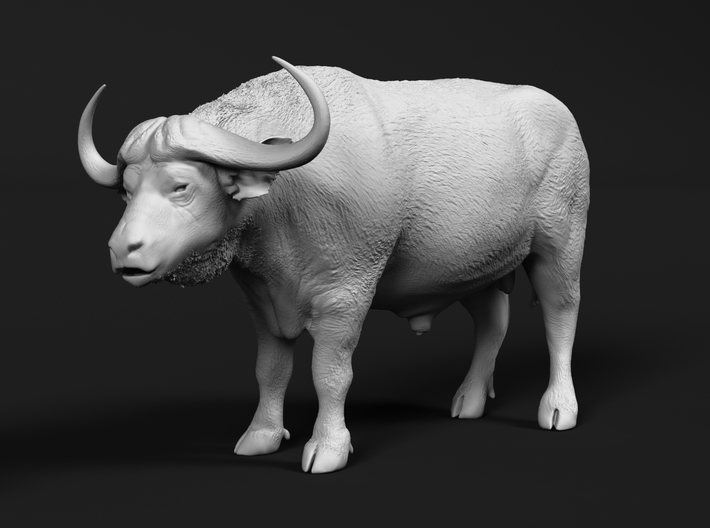 Cape Buffalo 1:20 Standing Male 4 3d printed