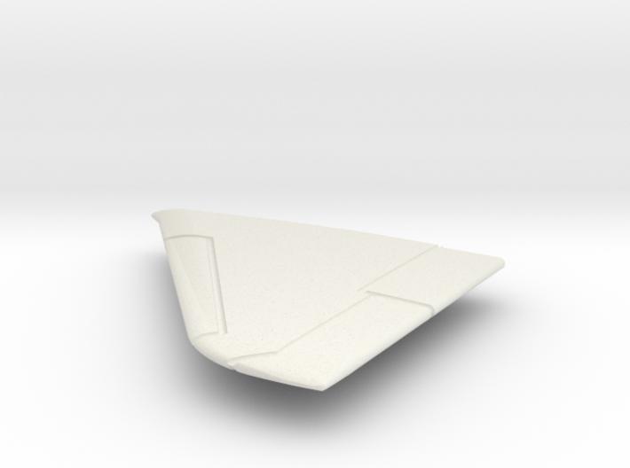 OA-4M-144scale-03-LeftWing-SlatsUp 3d printed