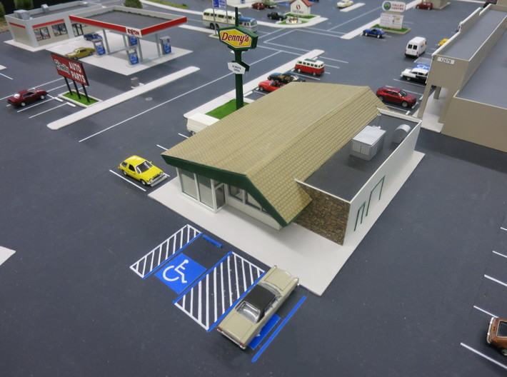 Handicap Parking Templates (HO) 3d printed Results