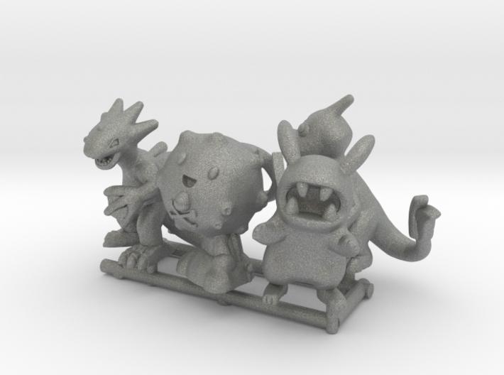 PokeFusion Minis - Set of 5 3d printed