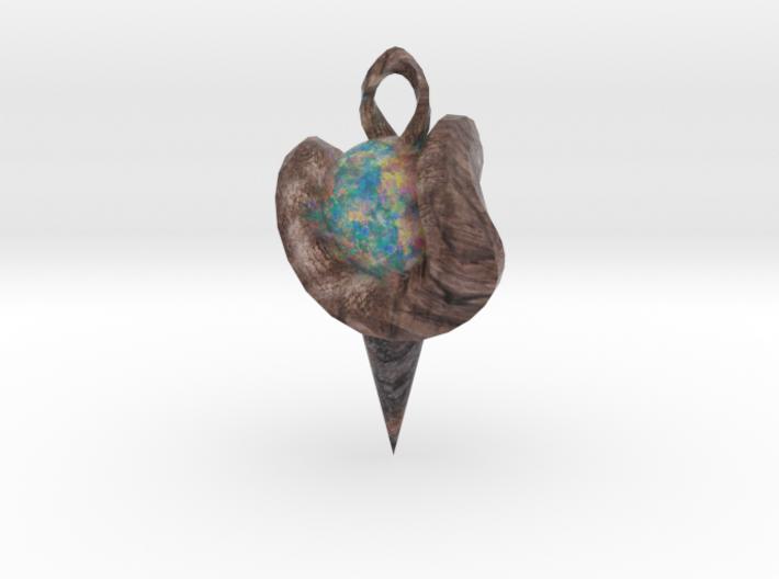 Opal in tree 3d printed