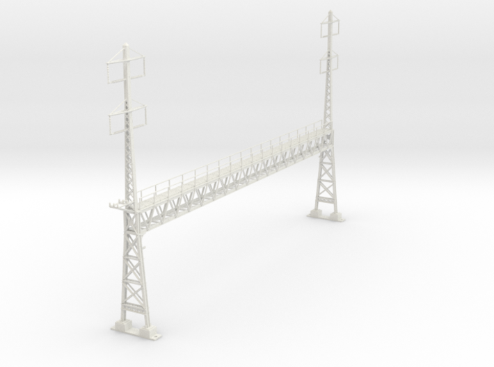 PRR 17.8 LARGE ANCHOR BRIDGE 3d printed