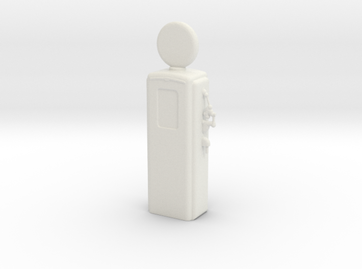 S Scale Old Gas Pump 3d printed This is a render not a picture
