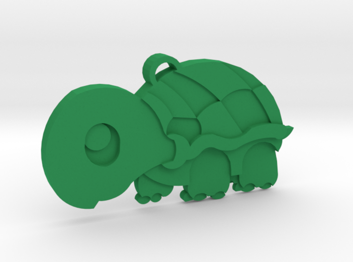 Cute Turtle Keychain 3d printed