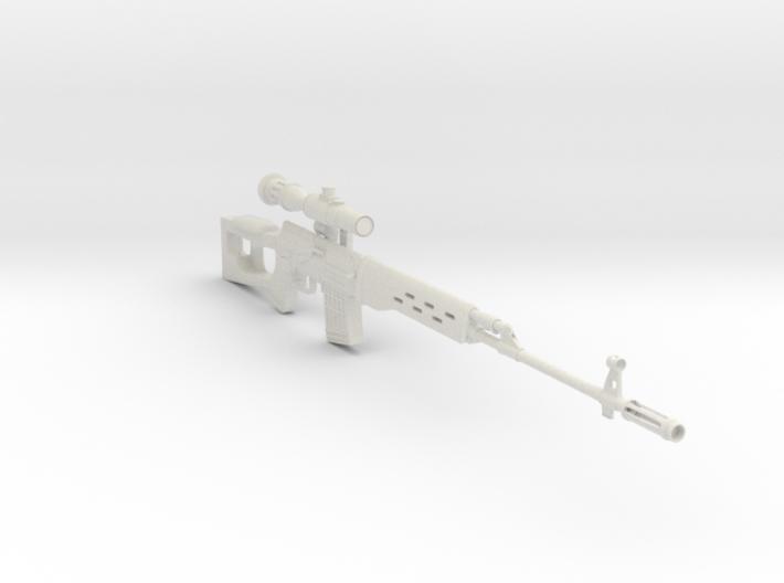 1/3rd scale Dragonuv SVD Sniper Rifle 3d printed
