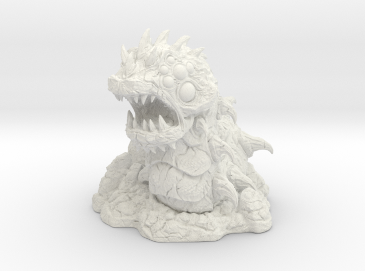 Ravager Worm-War Of The Ravaged Board Game Mini 3d printed