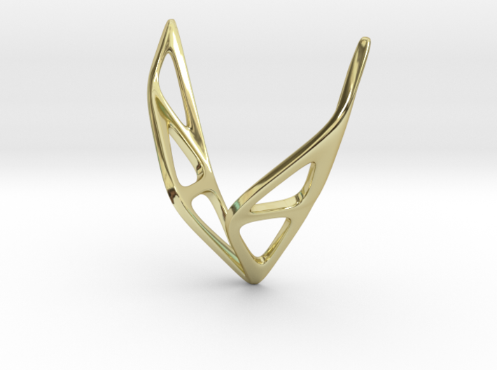 sWINGS Soft Structura, Pendant 3d printed