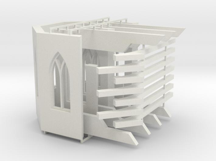 Kloster-Ruine V1 - Chor-Raum 3d printed