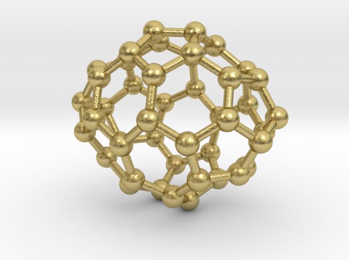 0652 Fullerene c44-24 d2 3d printed