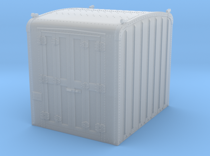 PRR DD1 container in S scale 3d printed