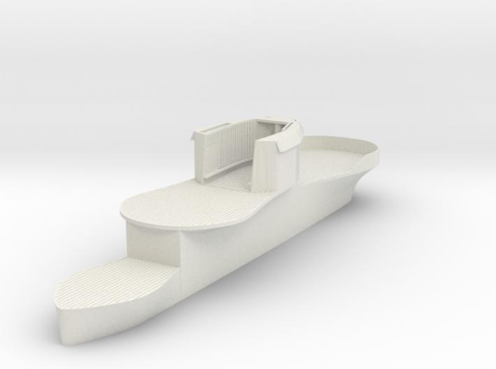 1/72 DKM U-Boot U-441 Conning Tower 3d printed
