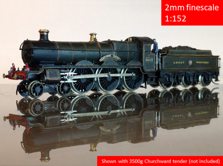 GWR Saint class locomotive, 2mm FS 3d printed