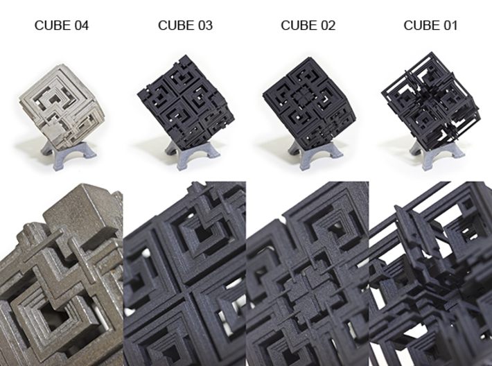 Cube 02 3d printed Other Cube Variations