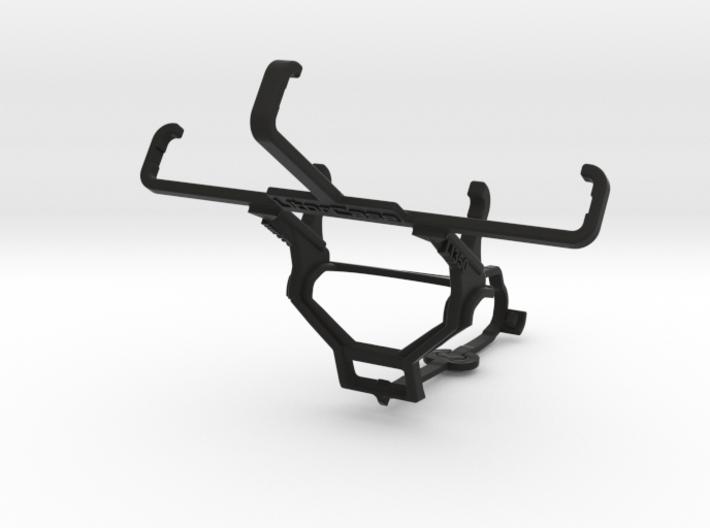 Steam controller & Lava Iris 350 - Front Rider 3d printed