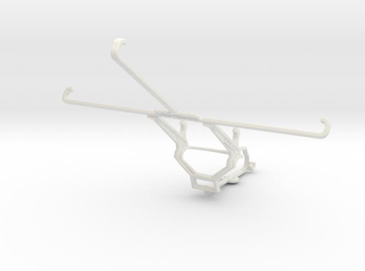Controller mount for Steam & Apple iPad mini Wi-Fi 3d printed