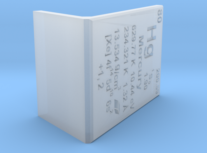 Mercury Element Stand 3d printed