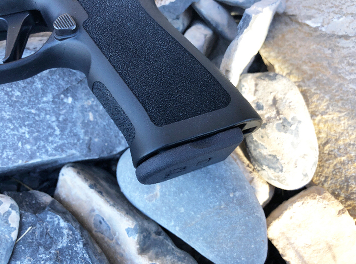 SIG P320 Base Plate - x5 RECTANGLE SPRING Plate 3d printed
