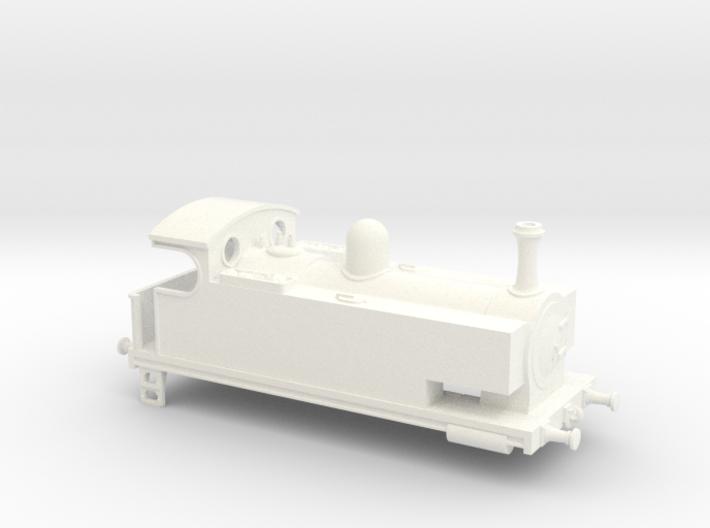 0-4-0 Side Tank 3d printed