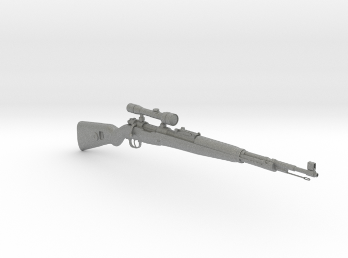 1/3rd Scale KAR 98 Sniper Rifle 3d printed