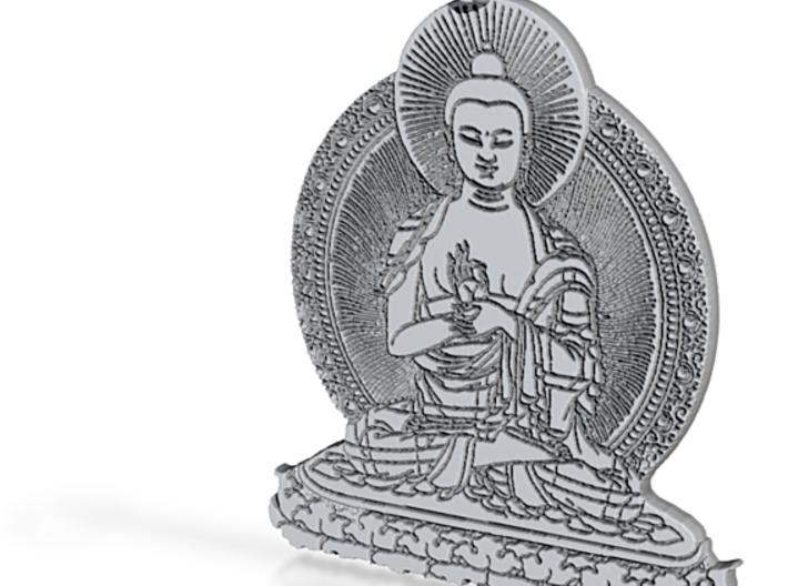 Buddah Pendant 3d printed