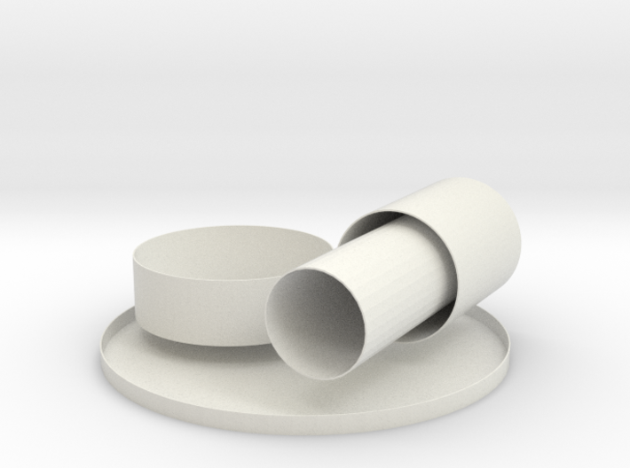 Classroom cylinders 3d printed