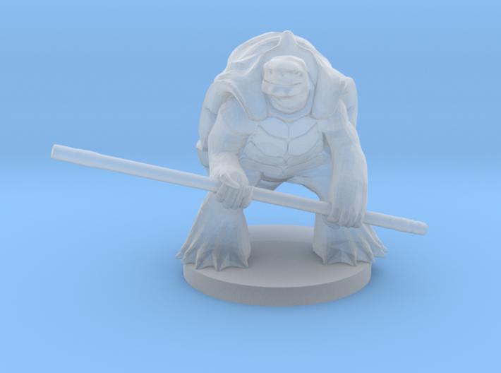 Turtlefolk Monk 3d printed
