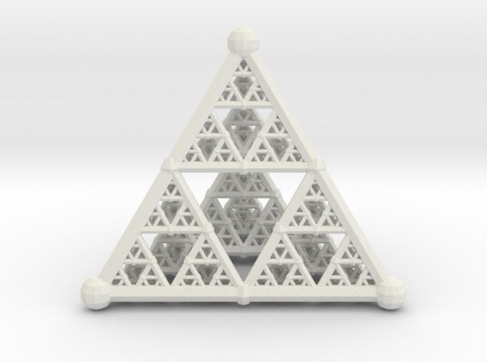 Sierpinski4 3d printed