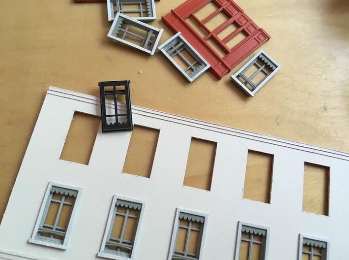 Window - Fenêtre - HO - 1/87 - (x10) 3d printed