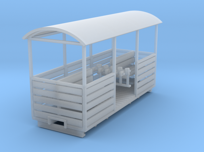 Peat Open Coach 3d printed
