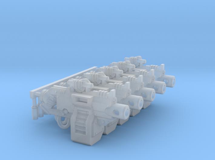 5x Heavy Rapfire-US01c 3d printed