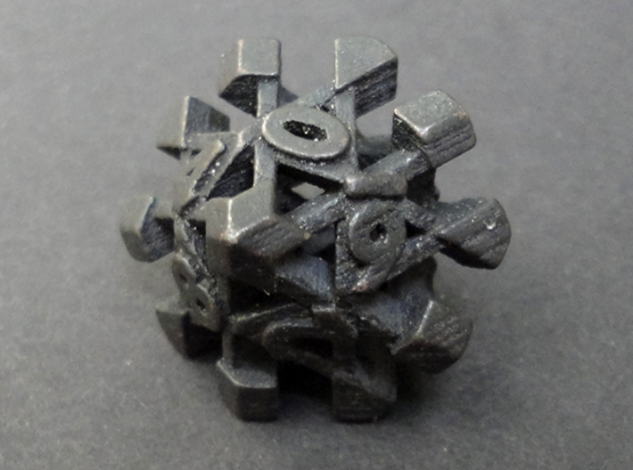 Intangle Die10 3d printed
