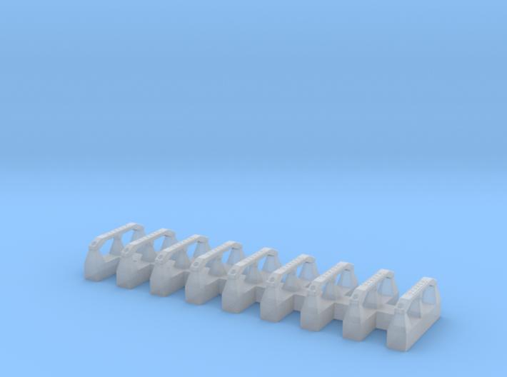 Shurco roll tube deflectors 9 3d printed