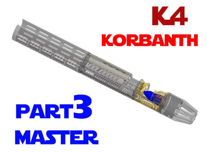 Korbanth / Parks K4 - Master Chassis Part3 3d printed