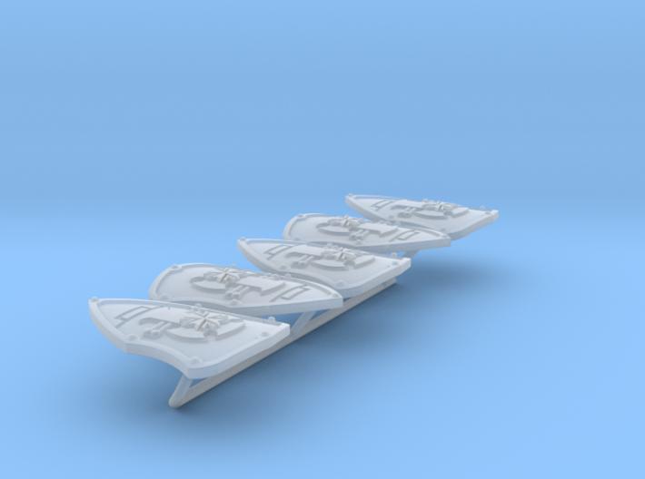 Iron Fist ptrn Energy Shield (B. Teutons) (left) 3d printed