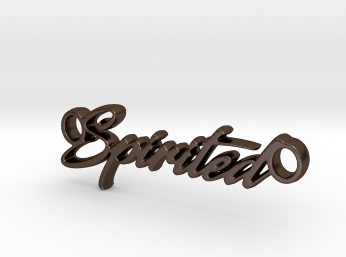 Spirited Pendant- Metal 3d printed