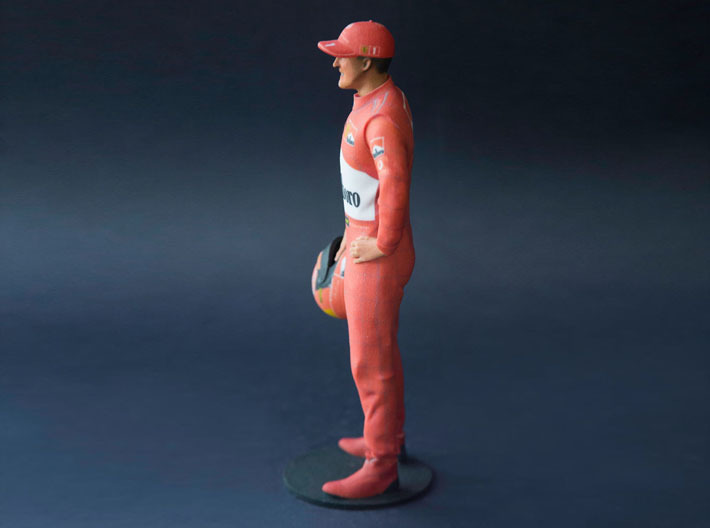 Michael 1/8 Standing Figure 3d printed