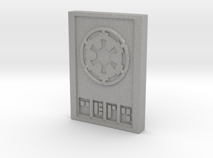 Star wars Sabacc Imperial credit chip 3d printed