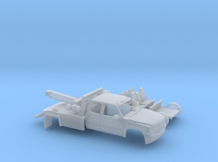 1/160 1999-02 Chevy Silverado EXTCab Wrecker Kit 3d printed