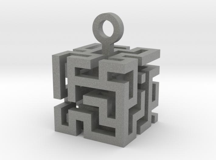 Labyrinth³ 3d printed