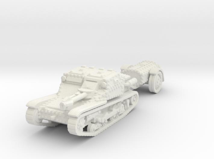 cv35 flamethrower scale 1/100 3d printed