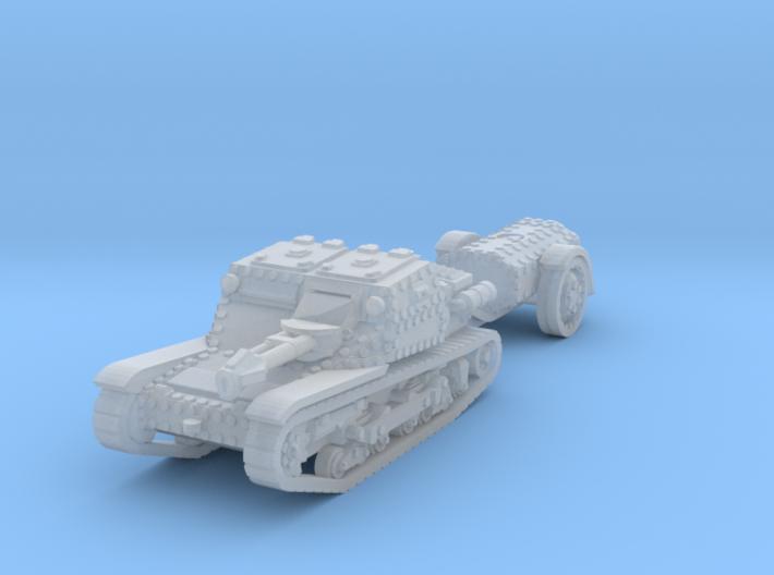 cv35 flamethrower scale 1/160 3d printed