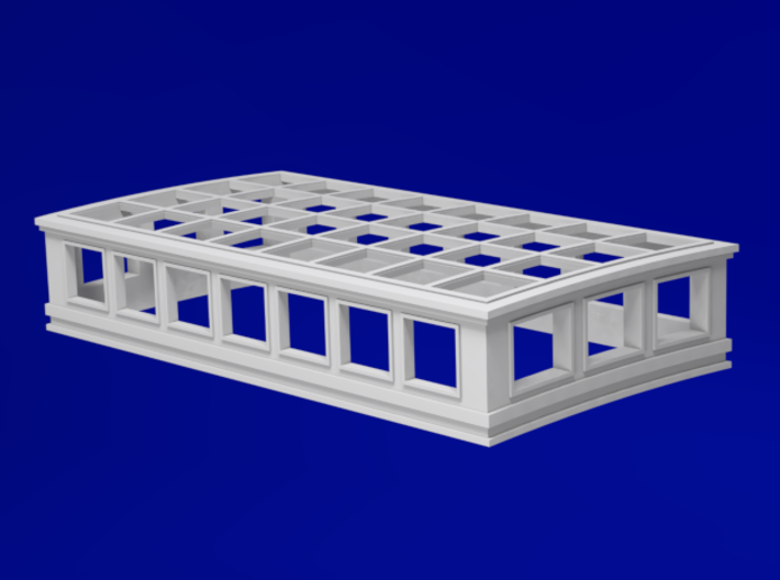 1:78 HMS Victory Skylight 3d printed
