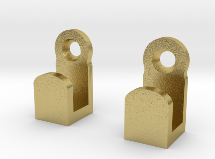 Light Switch Plate Hooks 3d printed