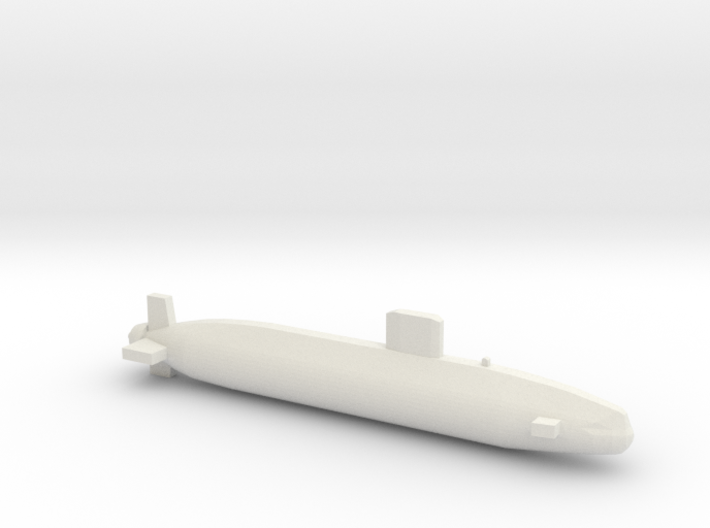 Swiftsure-class SSN, Full Hull, 1/1800 3d printed