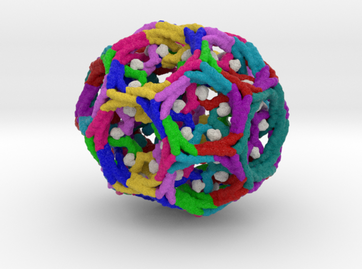 Clathrin Cage 3d printed