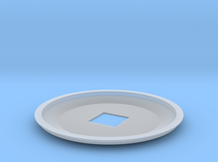 1-1000th Enterprise Saucer Top 3d printed