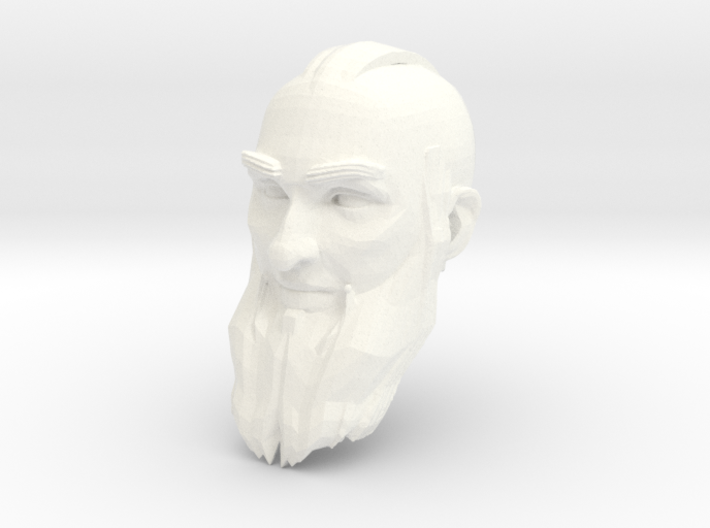 dwarf head 4 3d printed